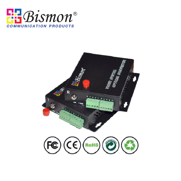 1-Ch-return-Audio-converter-single-fiber-TX-1310-1550nm-single-mode-20km-FC