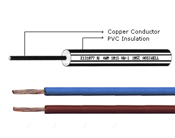 Electronic Cable Copper Solid 600V-