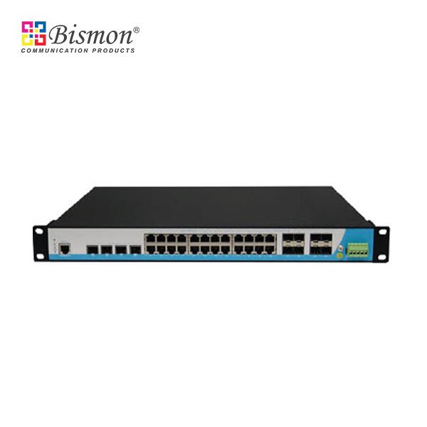 8 Ports Gigabit PoE + 2 port SFP/RJ45 Combo, L2 Managed