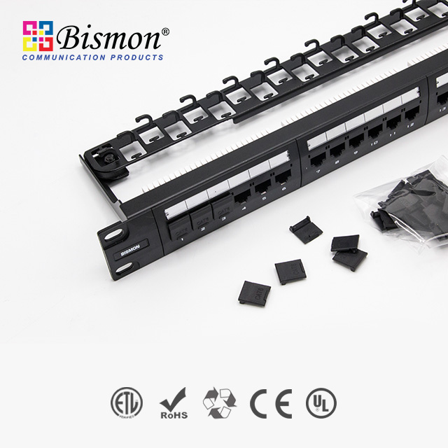 - Cat6 Patch Panel Bismon