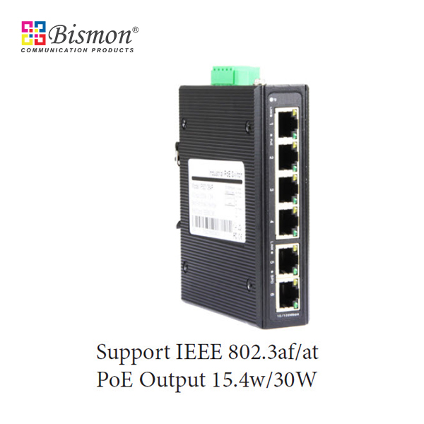 4-ports-10-100Mbps-RJ45-PoE-2Port-Uplink-Industrial-Switch