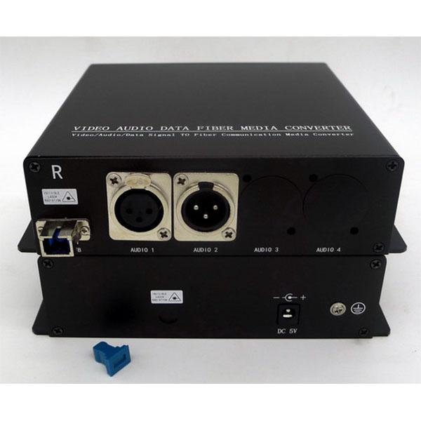1 CH BIDI Balanced Audio?XLR?To Fiber Optic