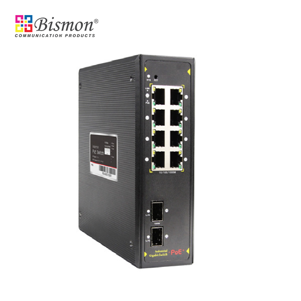 8-ports-10-100-1000M-PoE-2-SFP-slot-Gigabit-Uplink-IP-Protection-class-IP40-PoE-Output-15-4W