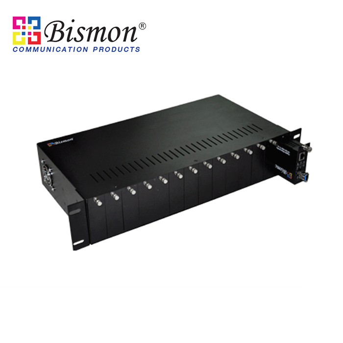 14-Slot-19-Rack-Chassis-Media-Converter-Double-Power-Supply