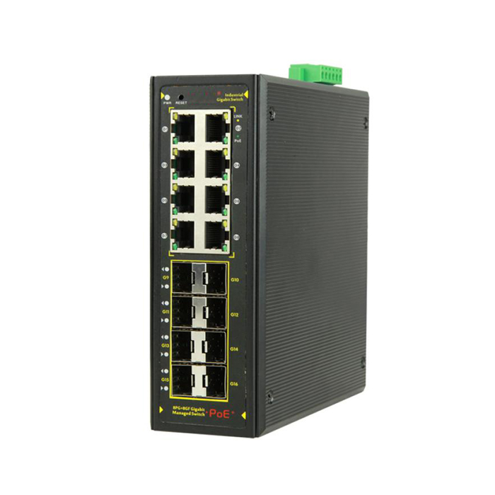 PoE Managed Switches
