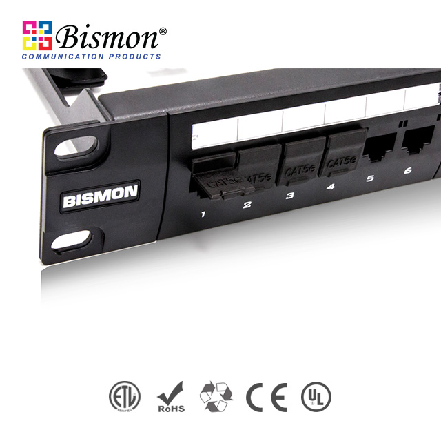 - Cat5e Patch Panel Bismon