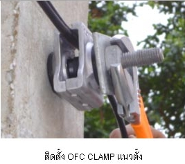 Drop wire Clamp for fiber optic cable