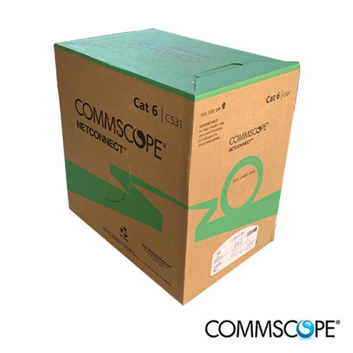 UTP Solution Cat6, Cat6A (Commscope)
