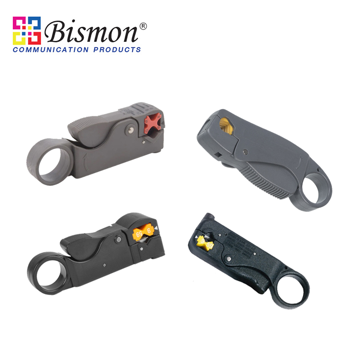 - Coaxial cable stripper