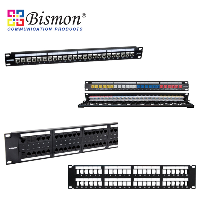 - Patch Panel UTP & FTP