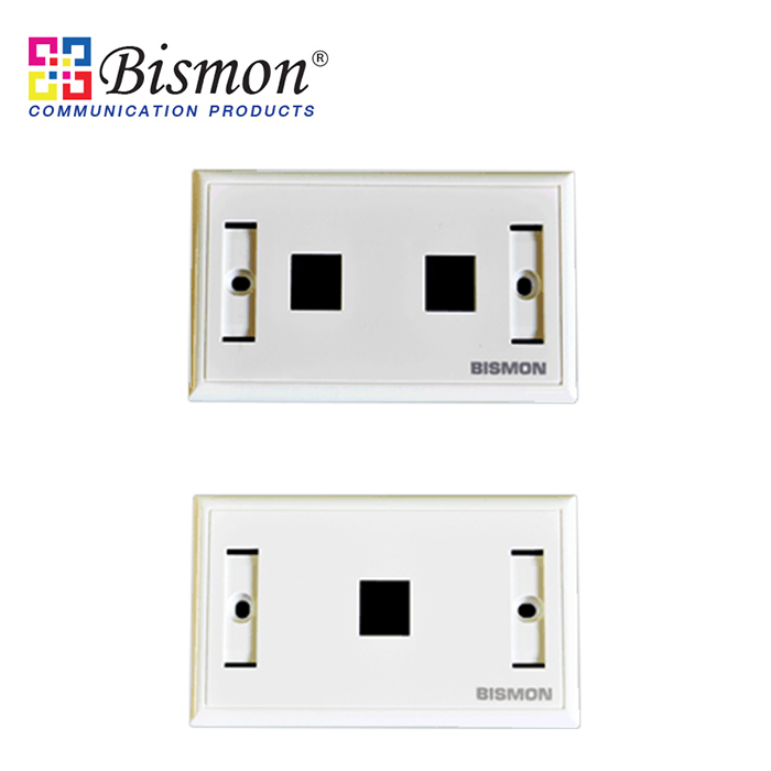 - Wall Plate for RJ45
