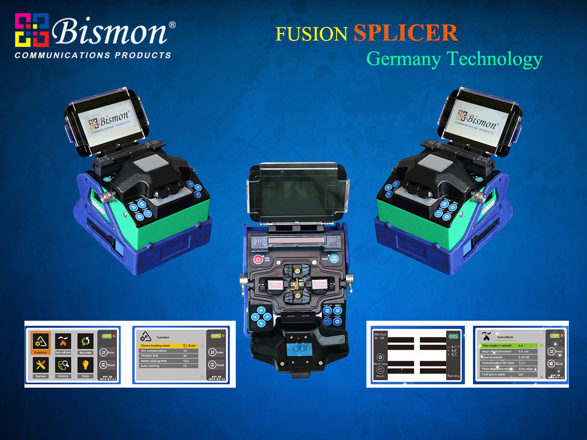 Optical-Fiber-Fusion-Splicer-Core-Alignment-Germany-Technology