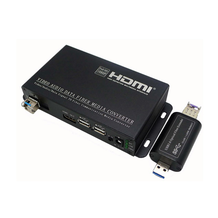 DVI/VGA/HDMI Transmission Fiber optic