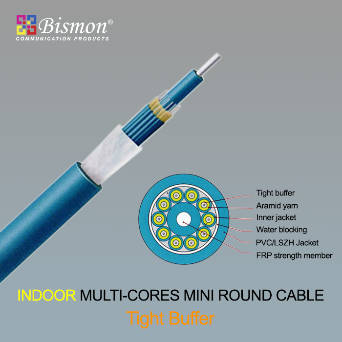 - Indoor Multi-cores Mini round cable-Tight Buffer