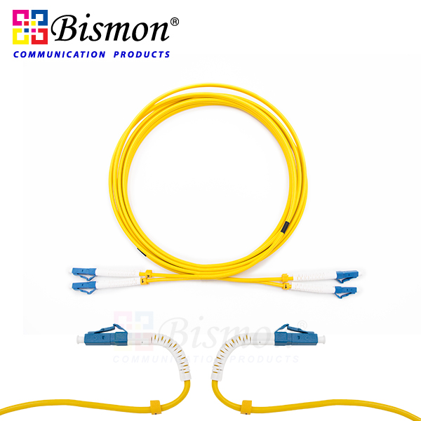 LC-UPC-Flex-angle-boot-to-LC-UPC-Flex-angle-boot-Patch-cord-SM-G-652-D-duplex-LSZH-3M