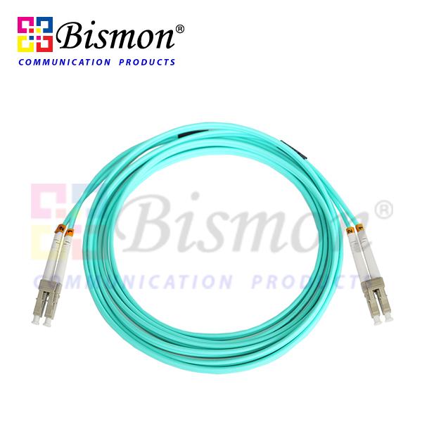 LC-LC Patch Cord Duplex 3 Meters Multi-Mode 50/125um 10GB (OM3)   Bismon