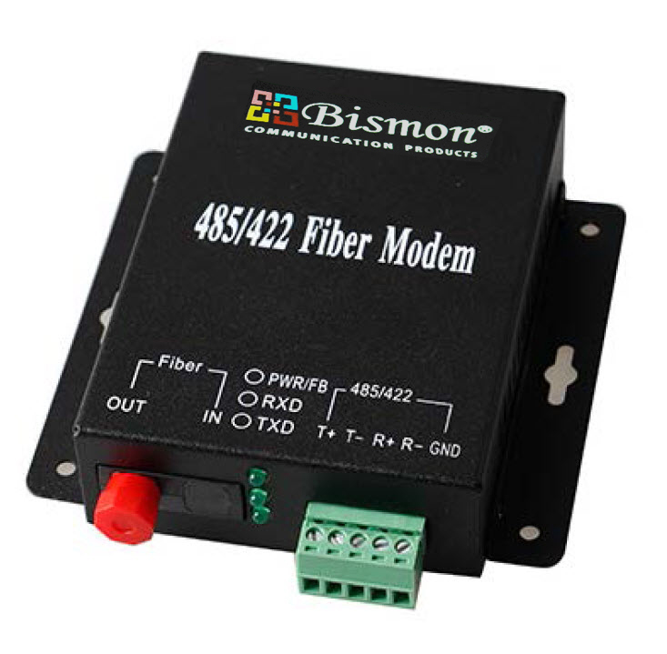 Industrial-converter-RS485-422-232-to-fiber-optic-Multi-mode-2KM
