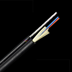 FTTH Fiber optic Round cable with Strand, LSZH Jacket