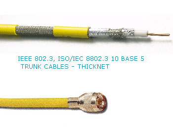 Thinnet, Thicknet cable