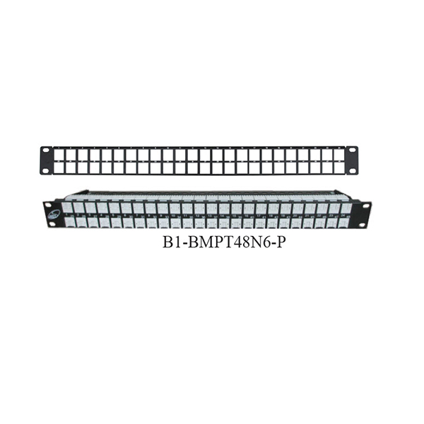 1U-Patch-48-Port-Patch-Panel-Cat-6-with-Push-Dust-Cover