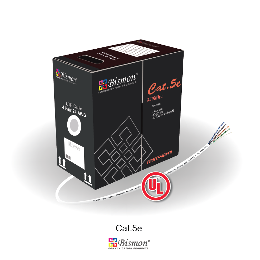 CAT5E UTP (350MHz) CABLE, UL CM RATE