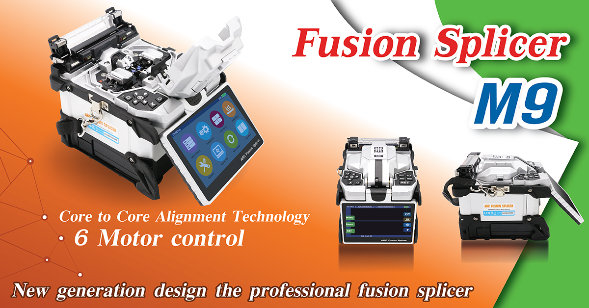 M9-Core to Core Alignment 6 Motor Auto Fusion Splicer